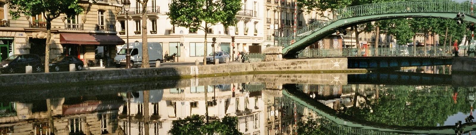Parkeren Parijs Canal Saint-Martin