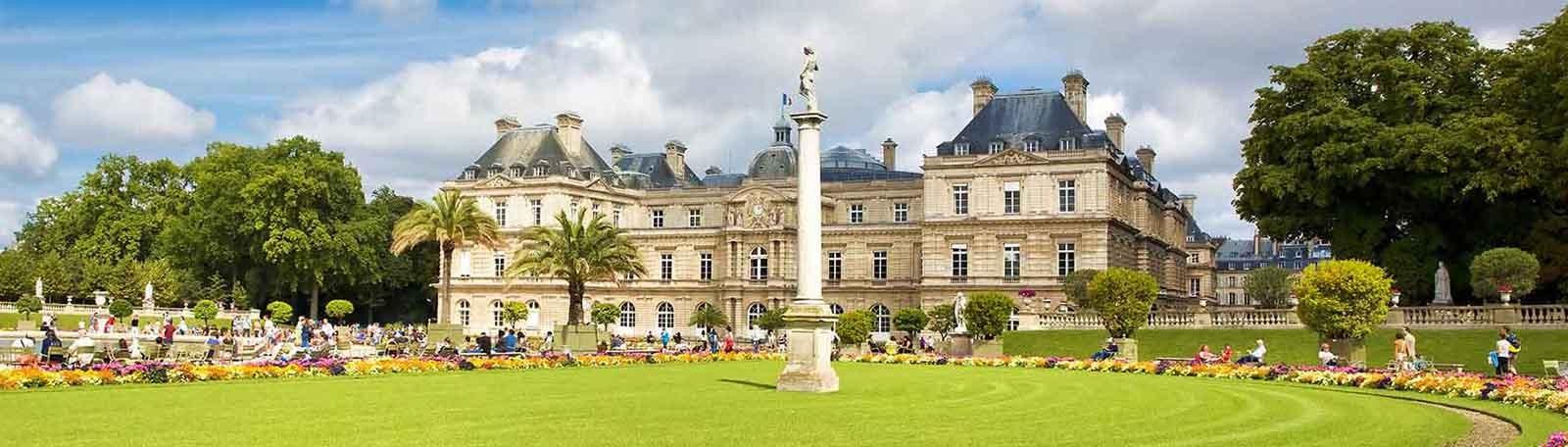 Parkeren Parijs Jardin du Luxembourg