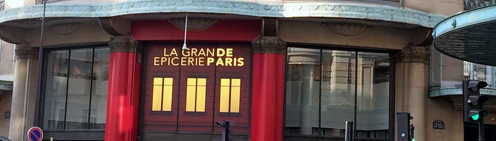Parkeren Parijs La Grande Epicerie de Paris