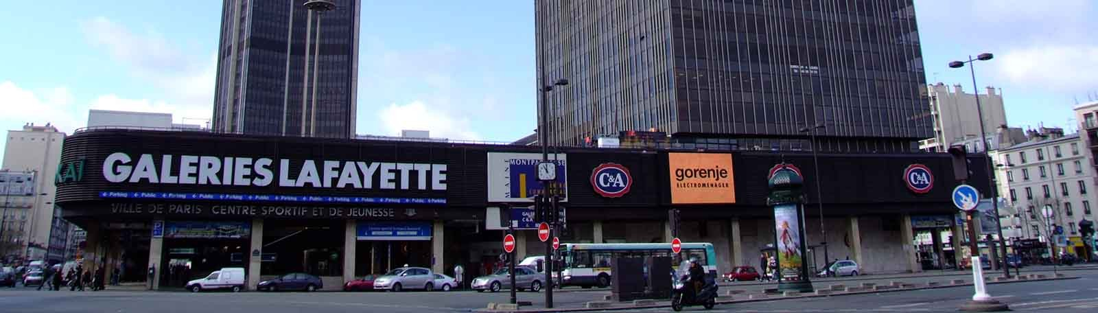 Parkeren Paris Montparnasse Rive Gauche