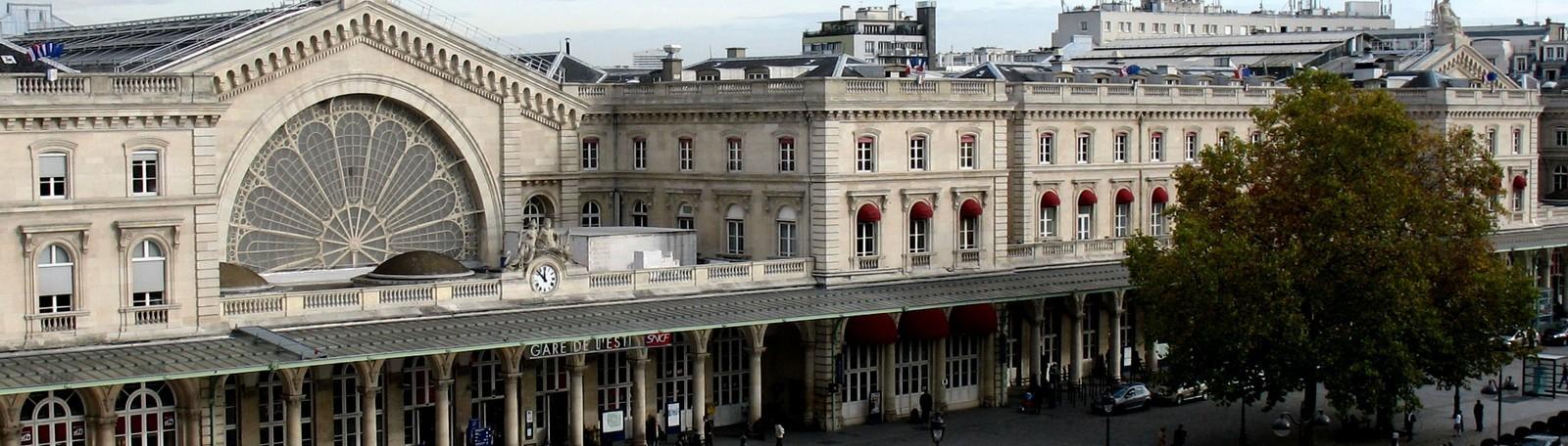 Parkeren Parijs Station van Est