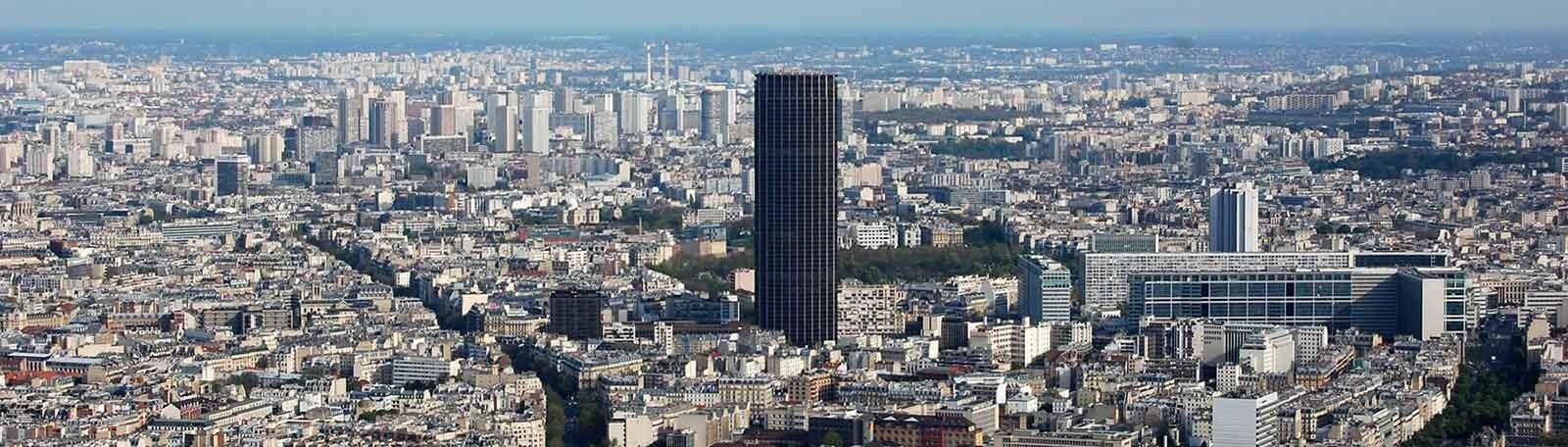Parkeren Parijs Tour Montparnasse