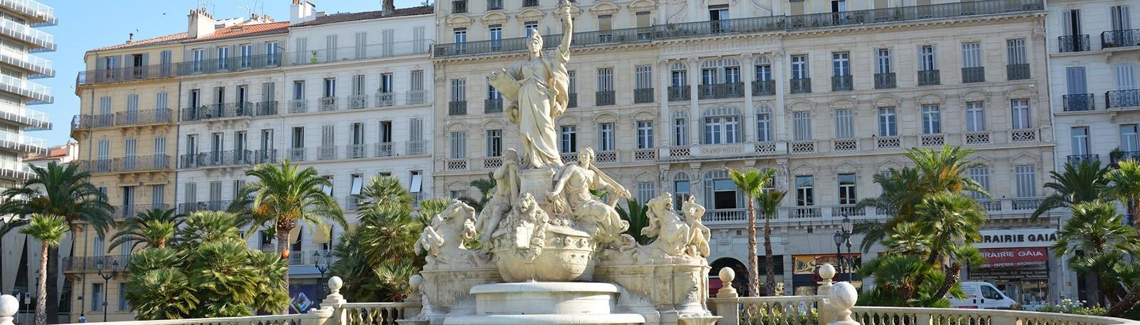 Parking Toulon Place de la Liberté
