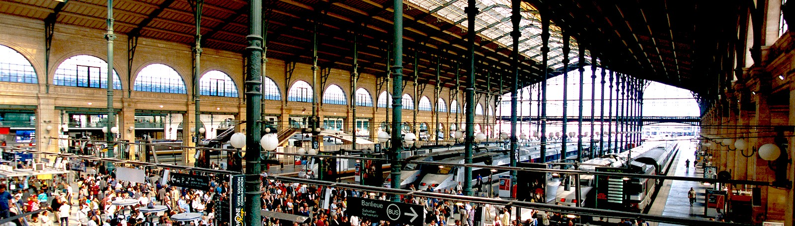Saint-Lazare train station - Stations, public transport - Paris
