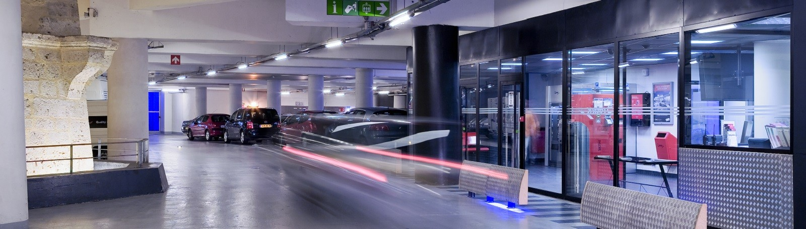 Book a car park or subscription in a few clicks with Q-Park !