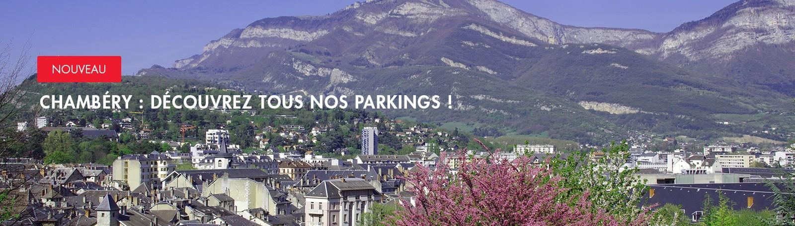 Nouveaux parkings Q-Park à Chambéry