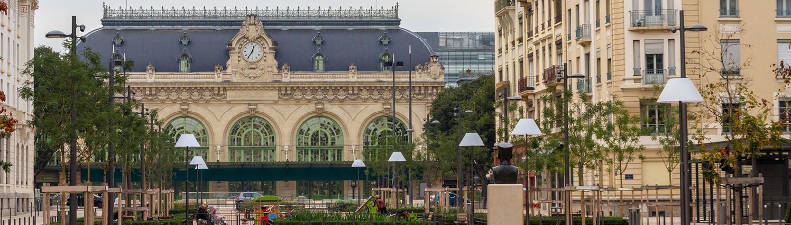 Car park Brotteaux - Park in Lyon | Q-Park