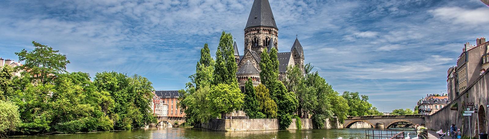 Q-Park Aubertin - Rue Clotilde Aubertin 57000 Metz