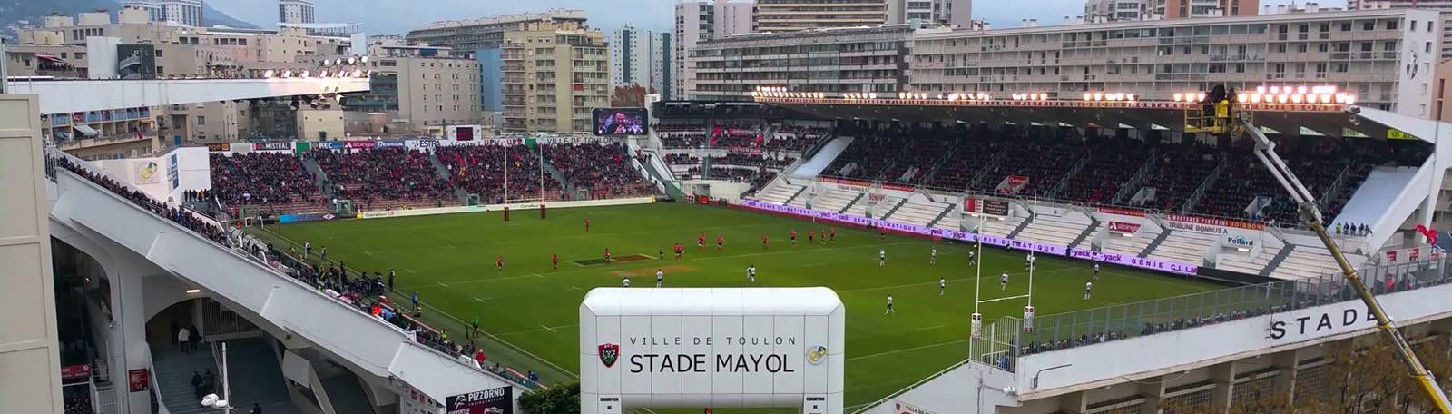 Q-Park Mayol Centre - Quai Joseph Lafontan (sous la tribune du stade) 83000 Toulon
