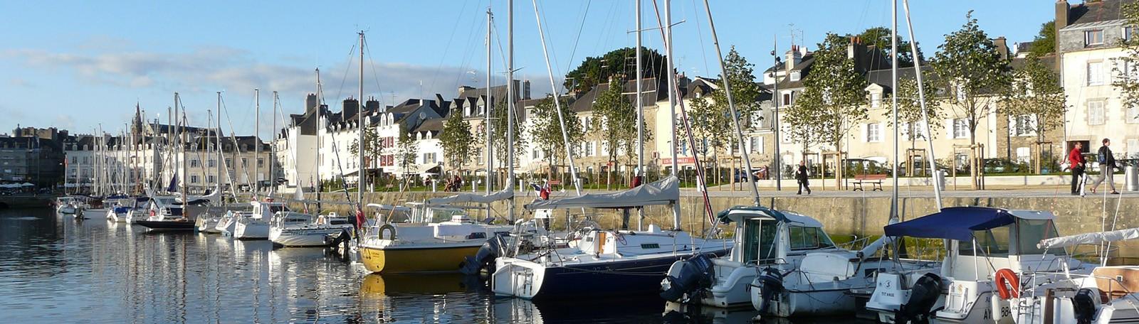 Car park Port - Park in Vannes | Q-Park
