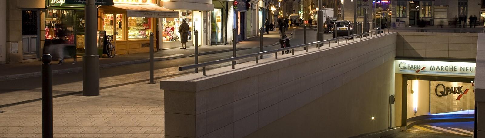 Parking Marché Neuf - Centre-ville - 1 Place du Marché Neuf 78100 Saint Germain en Laye