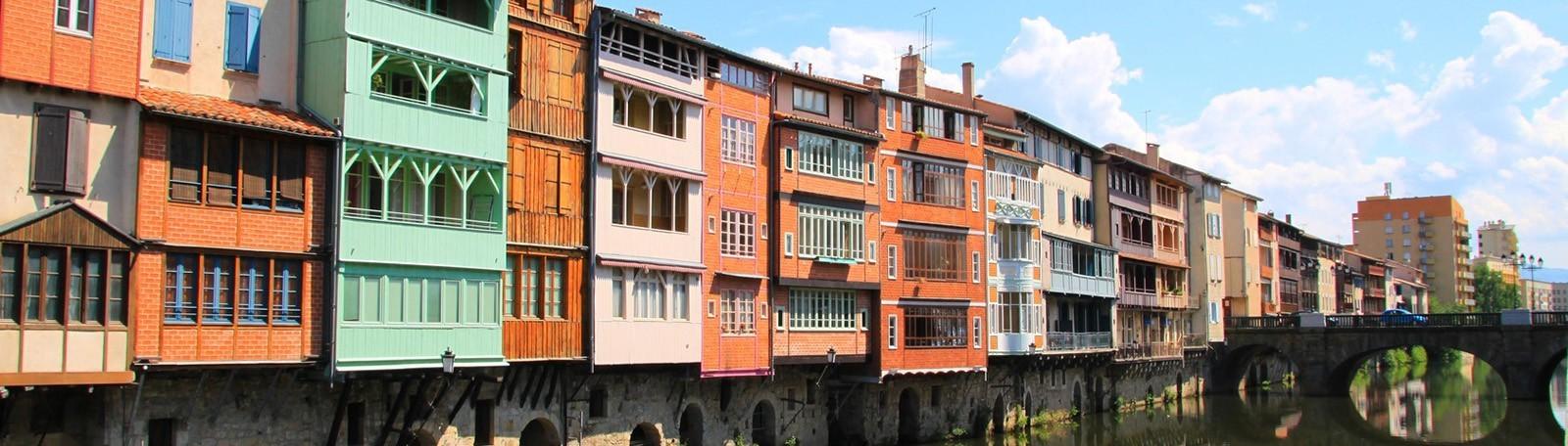 Réservation parking Berges Castres
