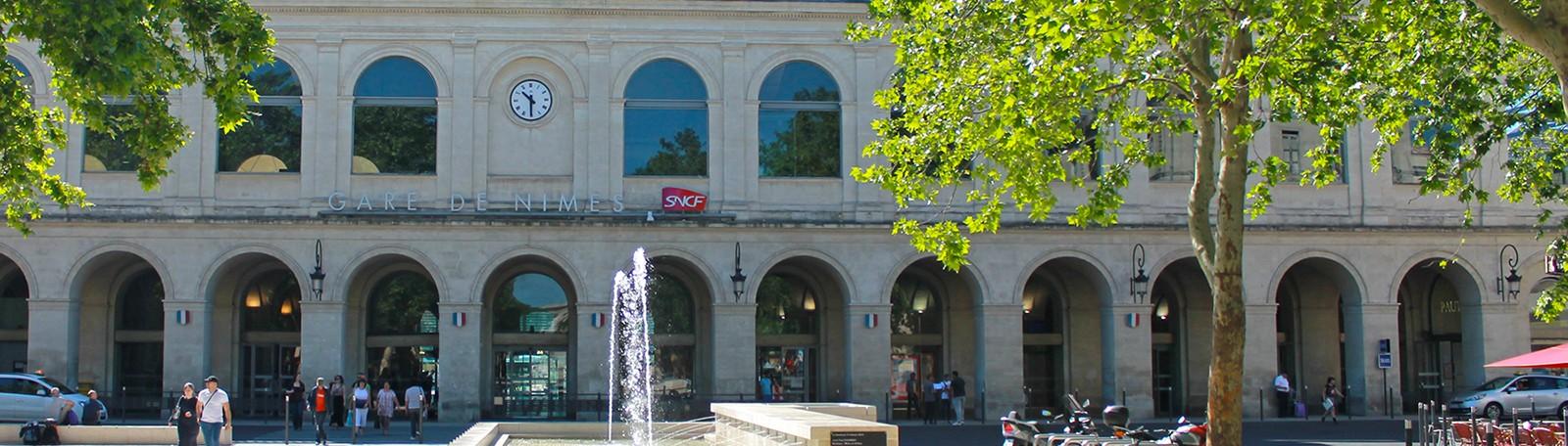 Réservation parking gare Feuchères Nîmes