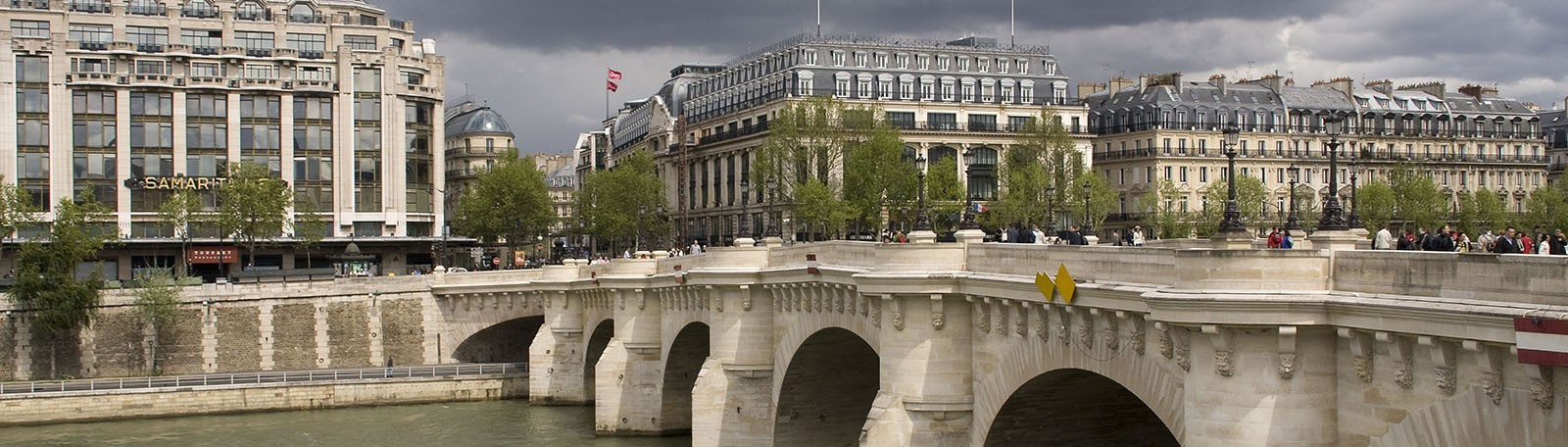 Réservation parking Rivoli Pont Neuf Paris