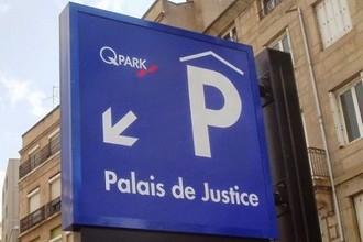 Saint Etienne: opening of the Palais de Justice parking facility