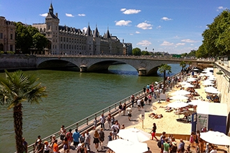 Take advantage of the beautiful end of summer days in Paris