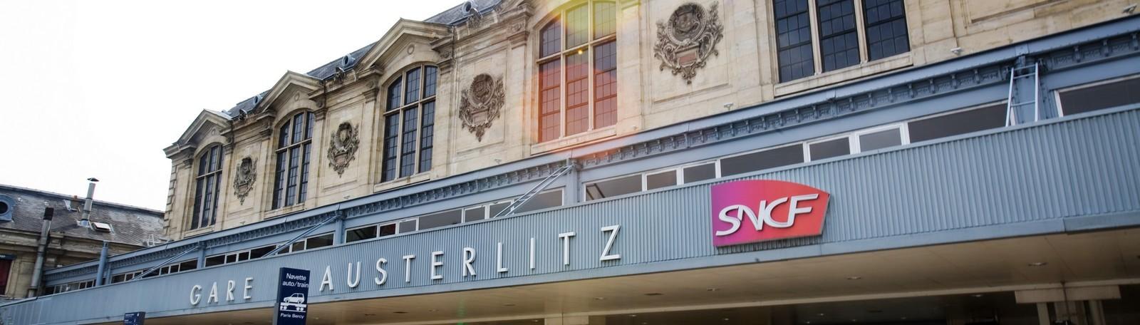 Parkeren Parijs Austerlitz station