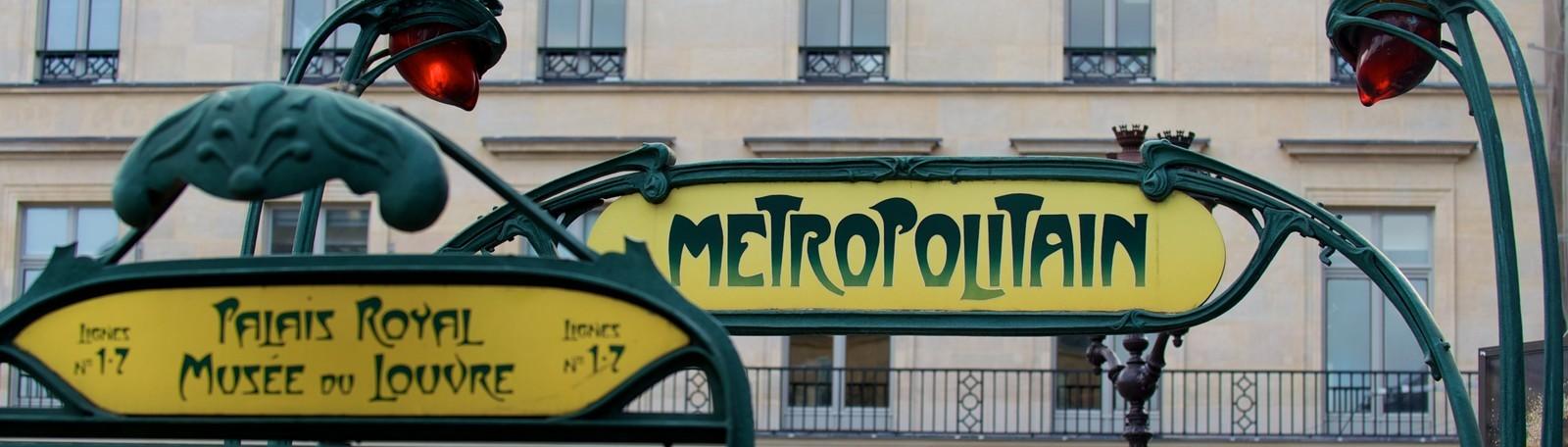 Parkeren Parijs Métro Palais Royal Musée du Louvre