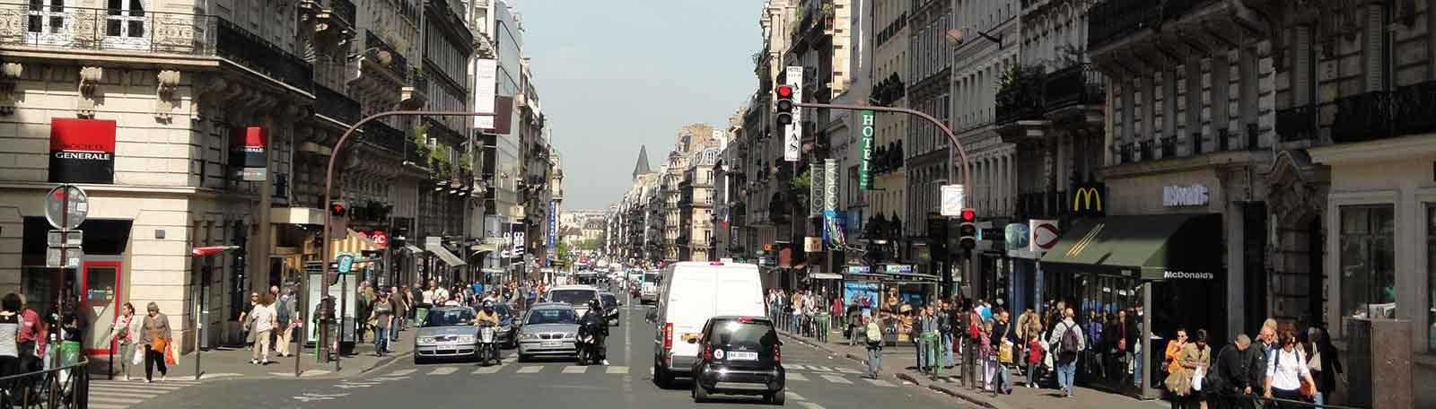 Parkeren Parijs Rue de Rennes