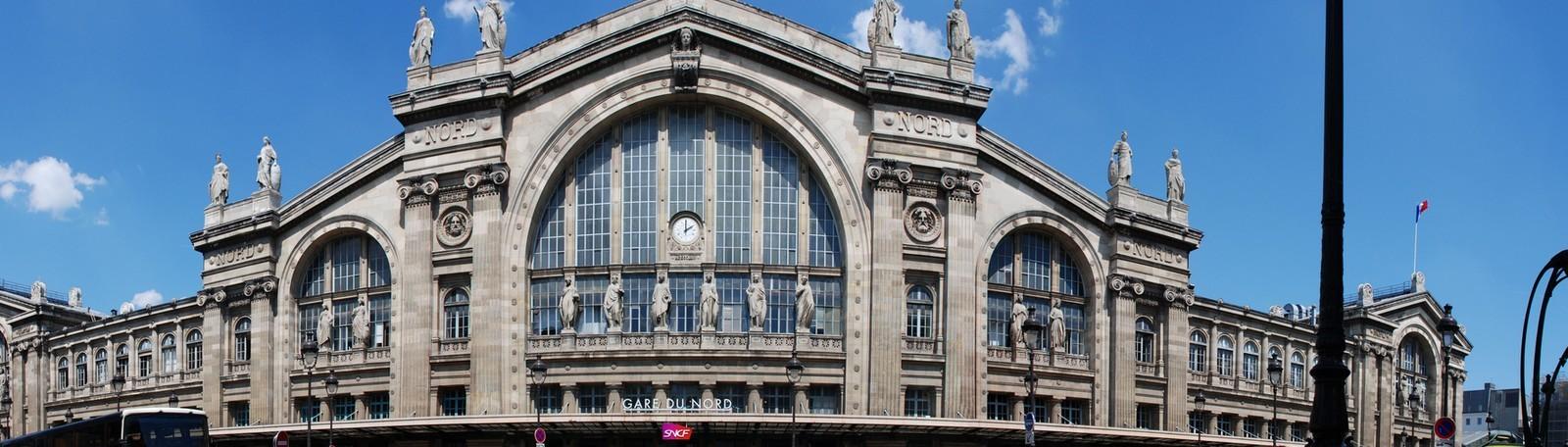 Parkeren Parijs Station van Nord