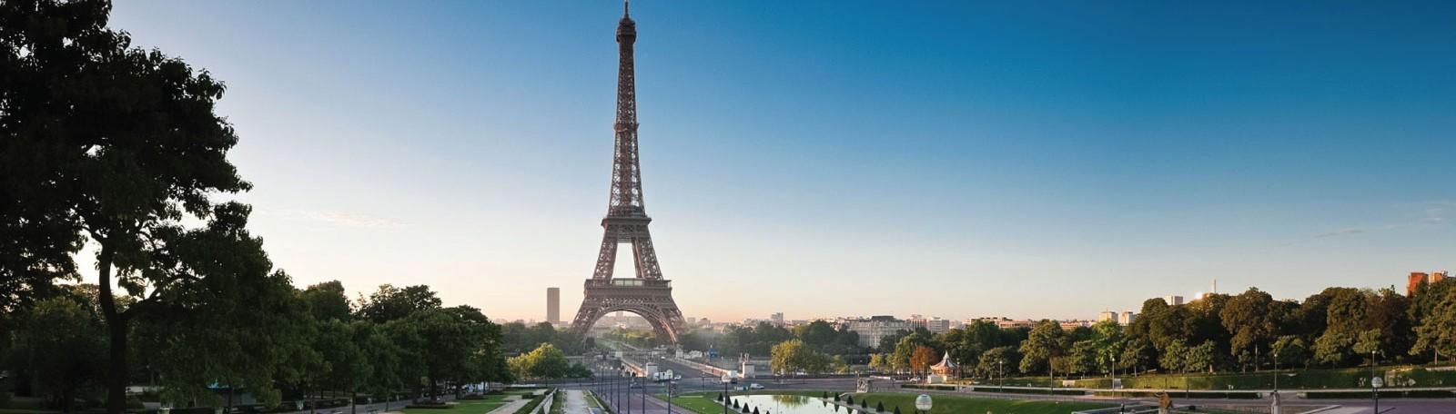 Parkeren Parijs Tour Eiffel