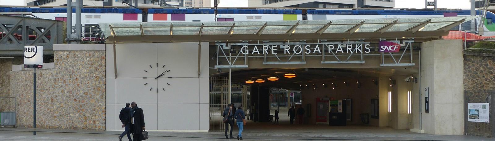 Parking Paris Gare Rosa Parks