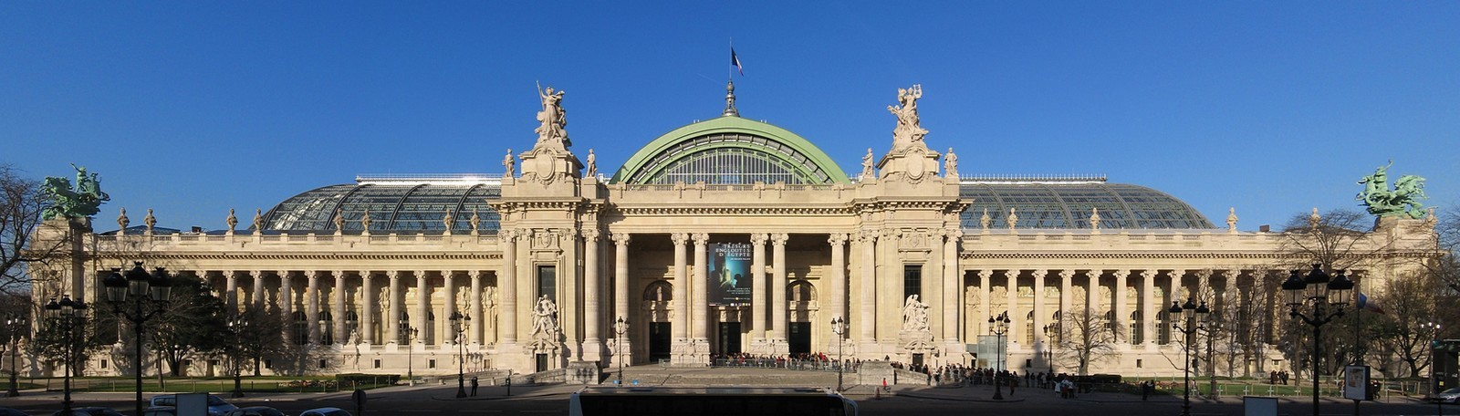 Car Park Paris Grand Palais