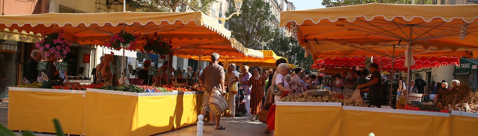 Car Park Toulon Cours Lafayette Market