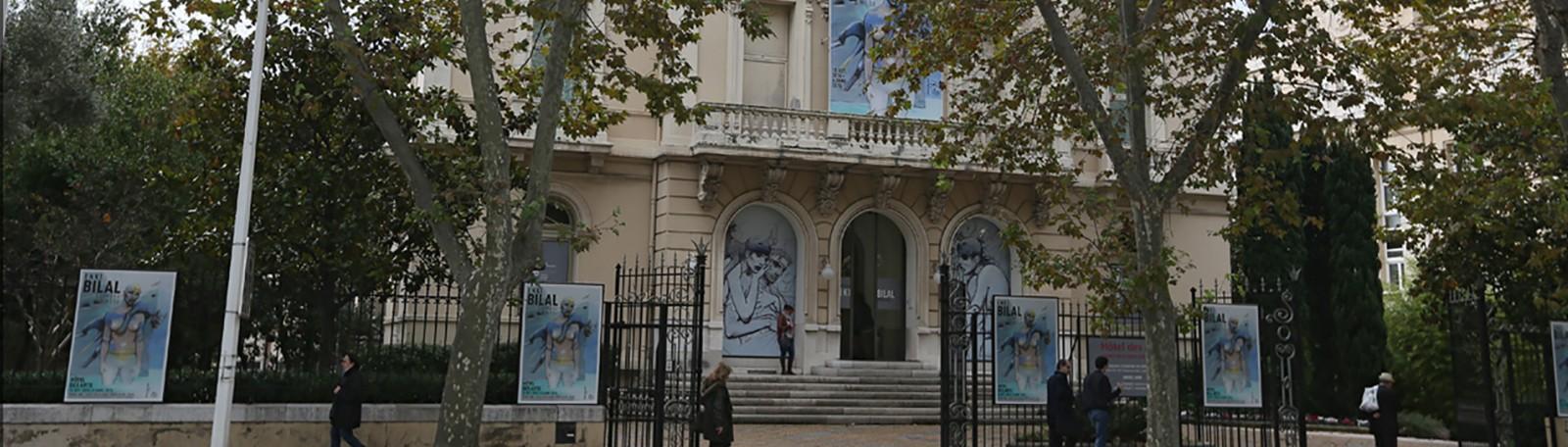 Parkeren Toulon Hôtel des Arts