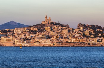 Au bord de la mer à Marseille