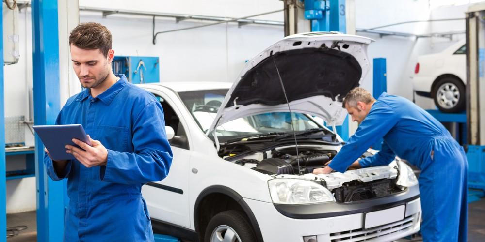Auto technische inspectie