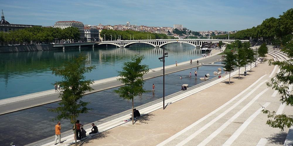 Berges du Rhône Lyon