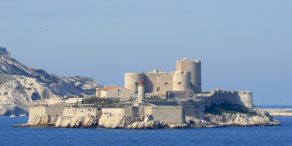 Chateau d'If in Marseille