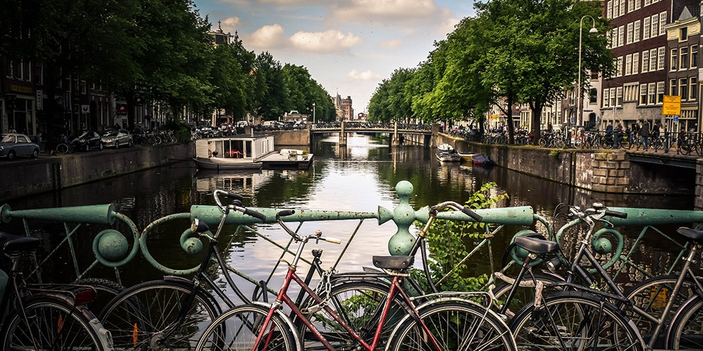 City tour of Amsterdam