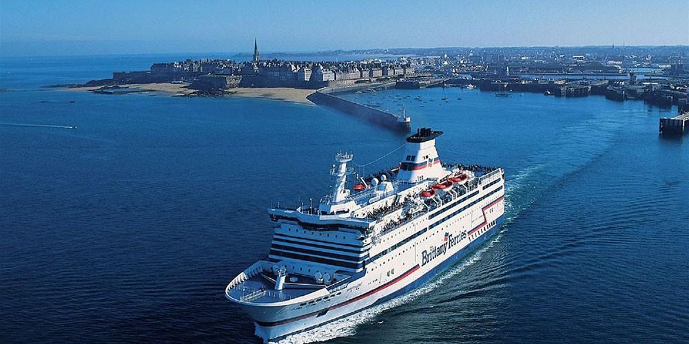 Départ Ferry à St-Malo