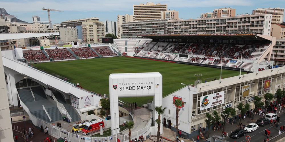 Mayol stadium in Toulon