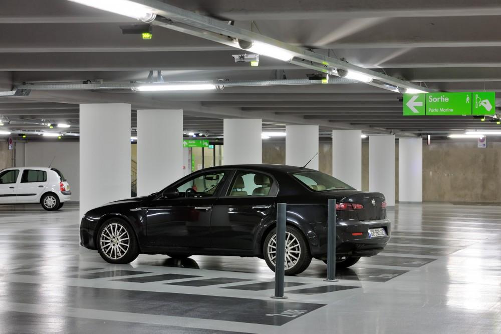 Antibes car park