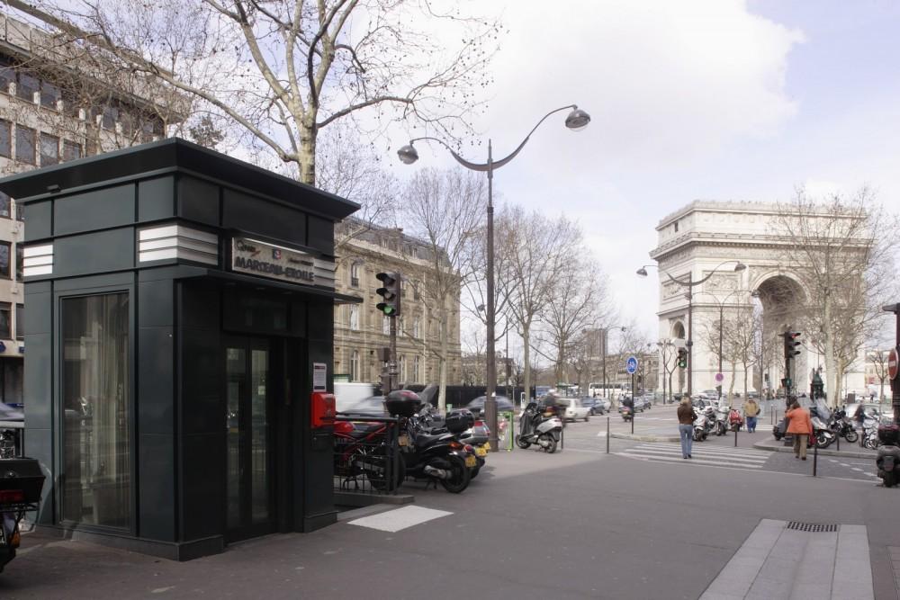 Parkeren Champs-Elysées