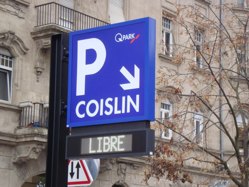 Parking Metz Coislin