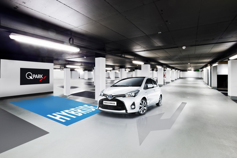 Toyota and Q-Park Partnership
