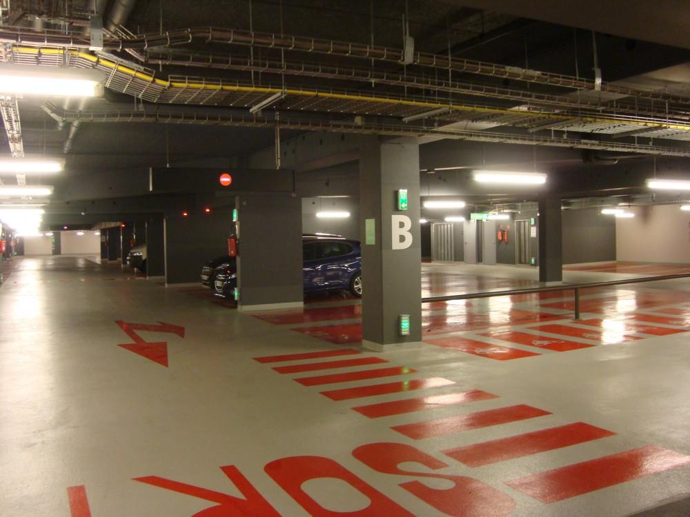 Parking Q-Park moderne