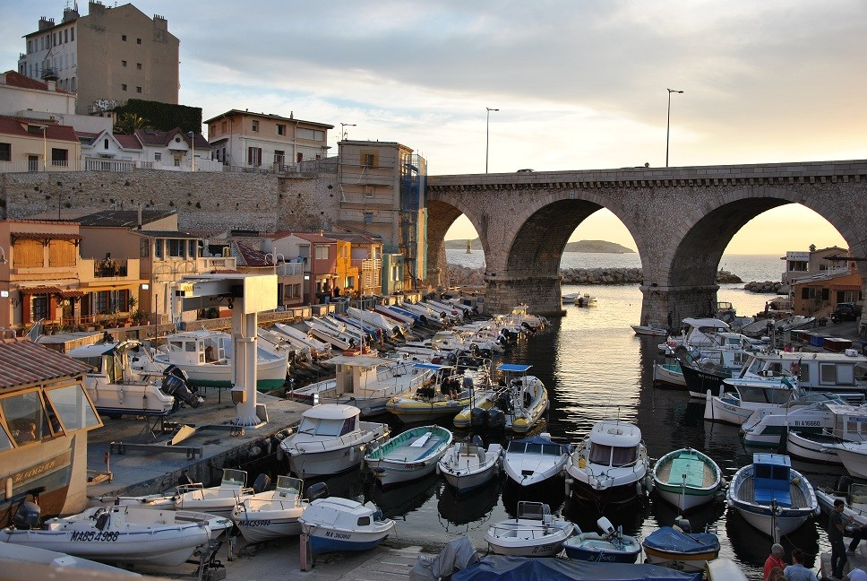 The Vallon des Auffes in Marseille
