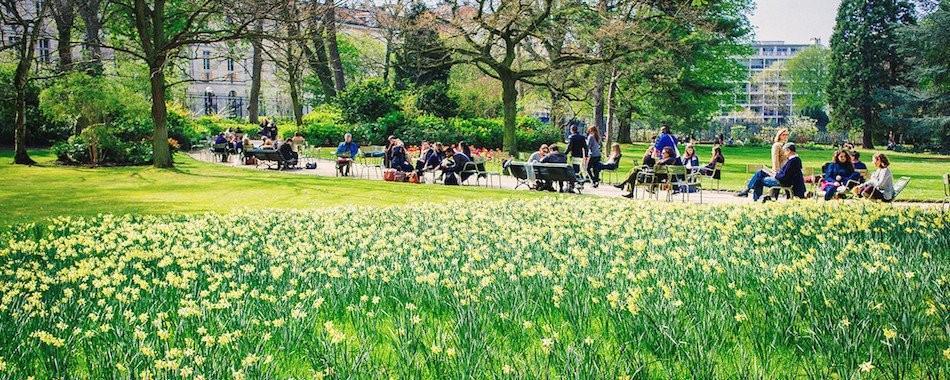 Gardens festival in Paris