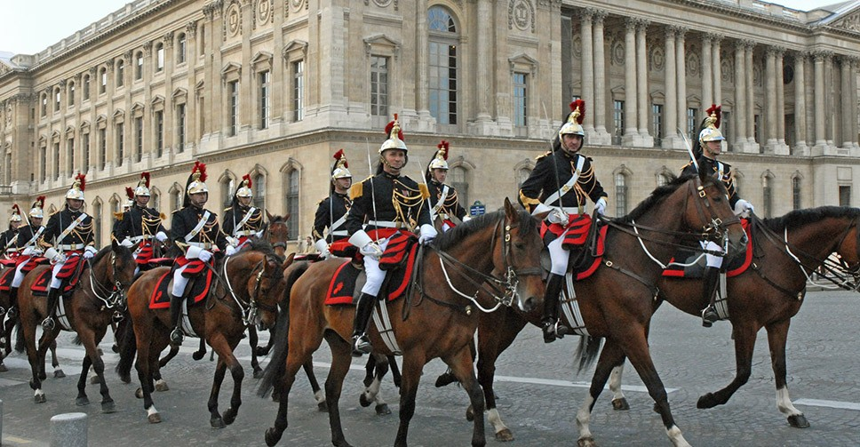 Paris Republican guard