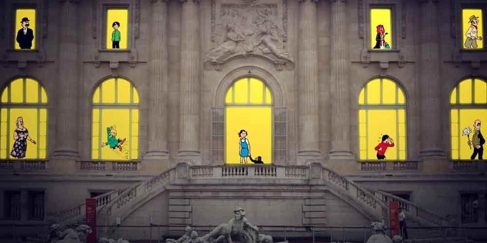 Les Aventures de Tintin au Grand Palais Paris
