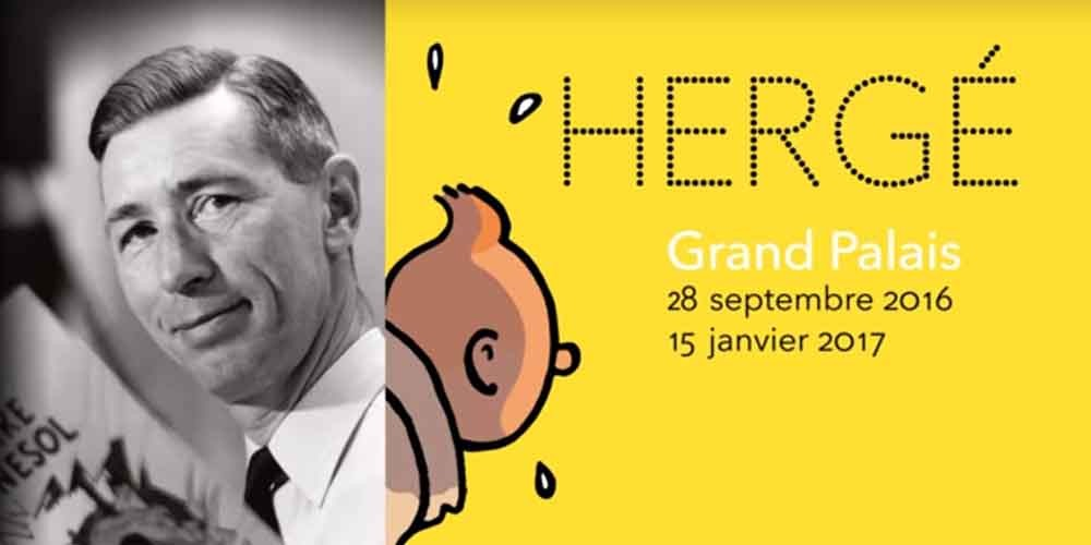 Exposition Hergé au Grand Palais Paris