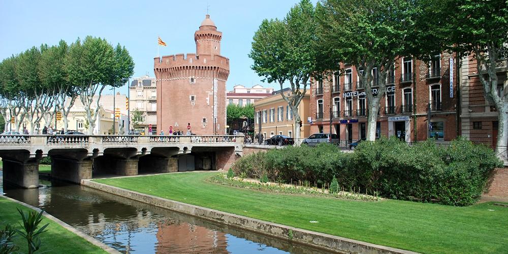 Park in Perpignan