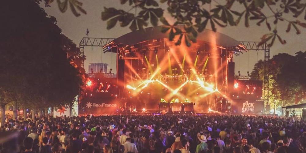 Rock en Seine festival Parijs