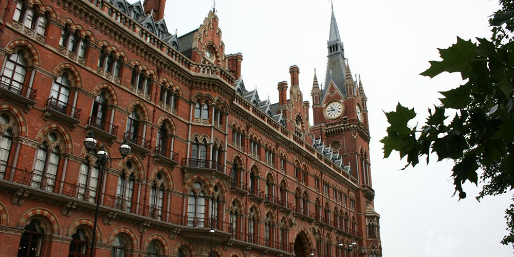 Station St Pancras in Londen