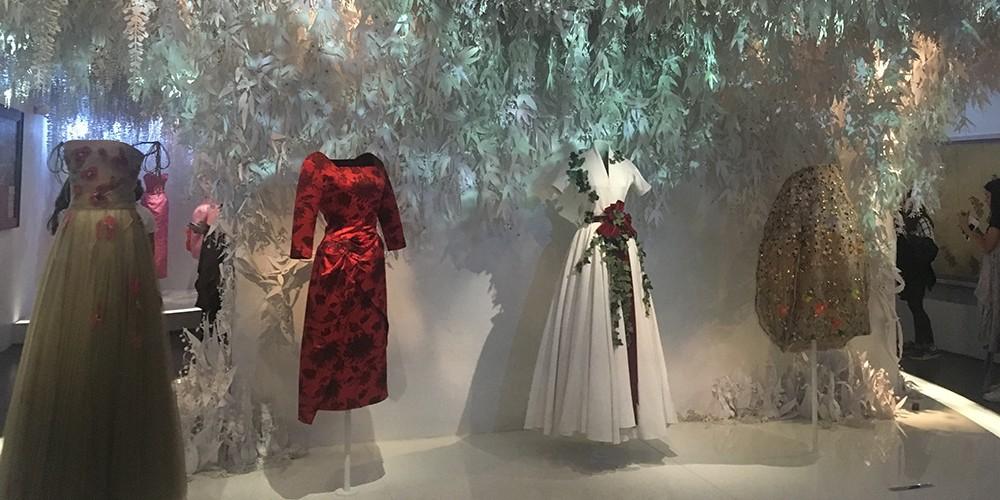 Tentoonstelling Christian Dior Parijs